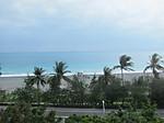 台鐵の車窓から望む太平洋