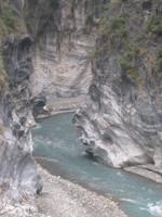 インディアンの酋長の横顔岩