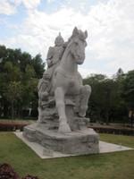 鄭成功の石像