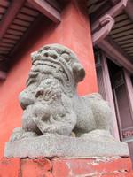台南孔子廟の狛犬